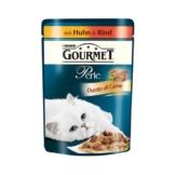 Gourmet Perle Duetto di Carne Huhn & Rind - 24x85g