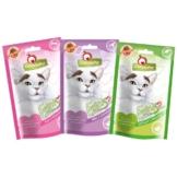 GranataPet Katzensnacks Probierpaket 3x50g