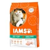 IAMS Katze Trockenfutter Adult Hairball Control Huhn - 300g