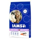 IAMS Katze Trockenfutter Adult Multicat Huhn & Lachs - 800g