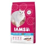 IAMS Katze Trockenfutter Mature & Senior Fisch - 2,55kg
