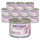 Kattovit Feline Diets 12x175g - Sensitive Protein (Allergie)