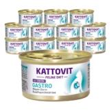 Kattovit Feline Diets 24x85g - Gastro Ente (Schonkost)