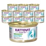 Kattovit Feline Diets 24x85g - Gastro Truthahn (Schonkost)