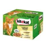Kitekat Katzenfutter Geflügelallerlei in Gelee Multipack 24x100g