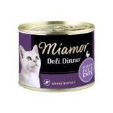 Miamor Deli Dinner Huhn Pur und Ente - 12x175g