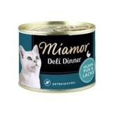 Miamor Deli Dinner Huhn Pur und Lachs - 12x175g