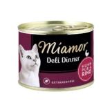 Miamor Deli Dinner Huhn Pur und Rind - 12x175g