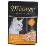 Miamor Feine Filets Standbeutel Huhn und Thunfisch - 6x100g