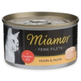 Miamor Katzenfutter Feine Filets in Jelly Huhn und Pasta - 6x100g