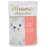 Miamor Katzenfutter Häppchen Huhn in Tomatenjelly - 85g