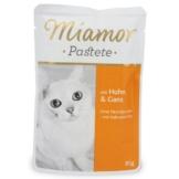 Miamor Katzenfutter Pastete Huhn und Gans - 12x85g