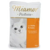 Miamor Katzenfutter Pastete Huhn und Gans - 24x85g