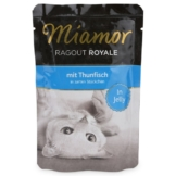 Miamor Katzenfutter Ragout Royal in Jelly Thunfisch - 22x100g