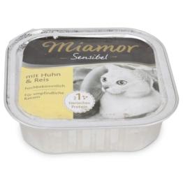 Miamor Katzenfutter Sensibel Huhn und Reis - 100g
