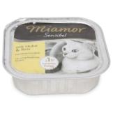 Miamor Katzenfutter Sensibel Huhn und Reis - 8x100g