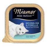 Miamor Milde Mahlzeit Geflügel Pur & Forelle - 8x100g