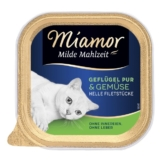 Miamor Milde Mahlzeit Geflügel Pur & Gemüse - 100g