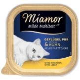Miamor Milde Mahlzeit Geflügel Pur & Huhn - 8x100g