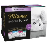 Miamor Ragout Royale Cream Vielfalt Multibox 12x100g