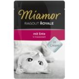 Miamor Ragout Royale Ente in Kräutercream - 22x100g