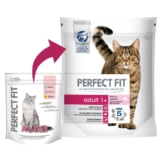 Perfect Fit Katzenfutter Adult 1+ reich an Lachs - 1,4kg