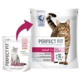 Perfect Fit Katzenfutter Adult 1+ reich an Lachs - 750g
