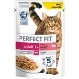 Perfect Fit Katzenfutter Adult mit Rind & Karotten - 12x85g