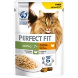 Perfect Fit Katzenfutter Senior mit Truthahn & Karotten - 12x85g