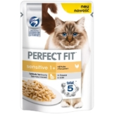 Perfect Fit Katzenfutter Sensitive mit Huhn - 12x85g
