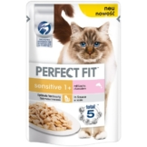 Perfect Fit Katzenfutter Sensitive mit Lachs - 12x85g