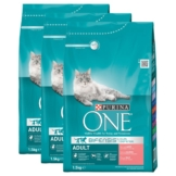 Purina One Bifensis Adult Lachs 3x1,5kg