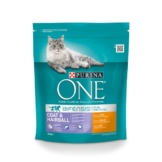 Purina ONE Bifensis Katzenfutter Coat & Hairball Huhn - 800g