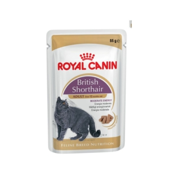 Royal Canin Feline Breed Nutrition British Shorthair 12x85g