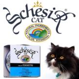 Schesir Katzenfutter in Gelee 14x85g-Dosen - Thunfisch & kleinen Sardellen