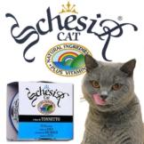 Schesir Pur Katzenfutter 14x85g-Dosen - Reiner Lachs