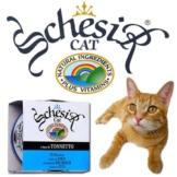 Schesir Pur Katzenfutter 14x85g - Reiner Thunfisch und Sardellen mit Reis