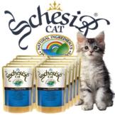 Schesir Soft Frischebeutel für junge Katzen 20x100g-Beutel - Thunfisch