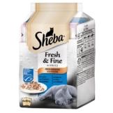 Sheba Fresh & Fine Fisch Variation Multipack 6x50g