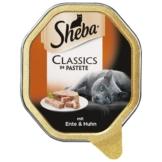 Sheba Katzenfutter Classics in Pastete Ente & Huhn - 85g