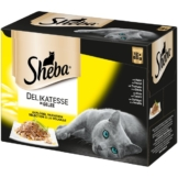 Sheba Katzenfutter Delikatesse in Gelee Geflügel Variation 12x85g