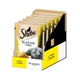 Sheba Katzenfutter Delikatesse in Gelee Huhn - 6x85g