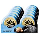 Sheba Katzenfutter Feine Filets Thunfischfilets - 12x80g