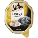 Sheba Katzenfutter Finesse Mousse Geflügel - 85g