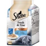 Sheba Katzenfutter Fresh & Fine Fisch Variation (MSC) 6x50g