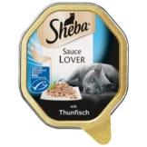 Sheba Katzenfutter Sauce Lover Thunfisch (MSC) - 11x85g