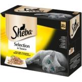 Sheba Katzenfutter Selection in Sauce Geflügel Variation 12x85g