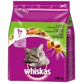Whiskas Adult 1+ mit Lamm - 800g