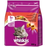 Whiskas Adult 1+ mit Rind - 800g