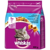 Whiskas Adult 1+ mit Thunfisch - 800g